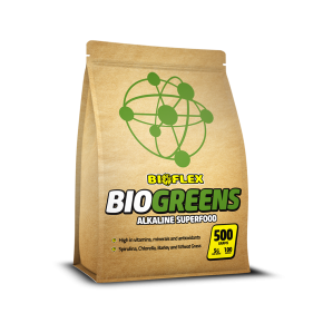 Bioflex - 4 Panel Pouch - BioGreens - C2
