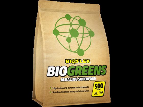 Bioflex – 4 Panel Pouch – BioGreens – C2