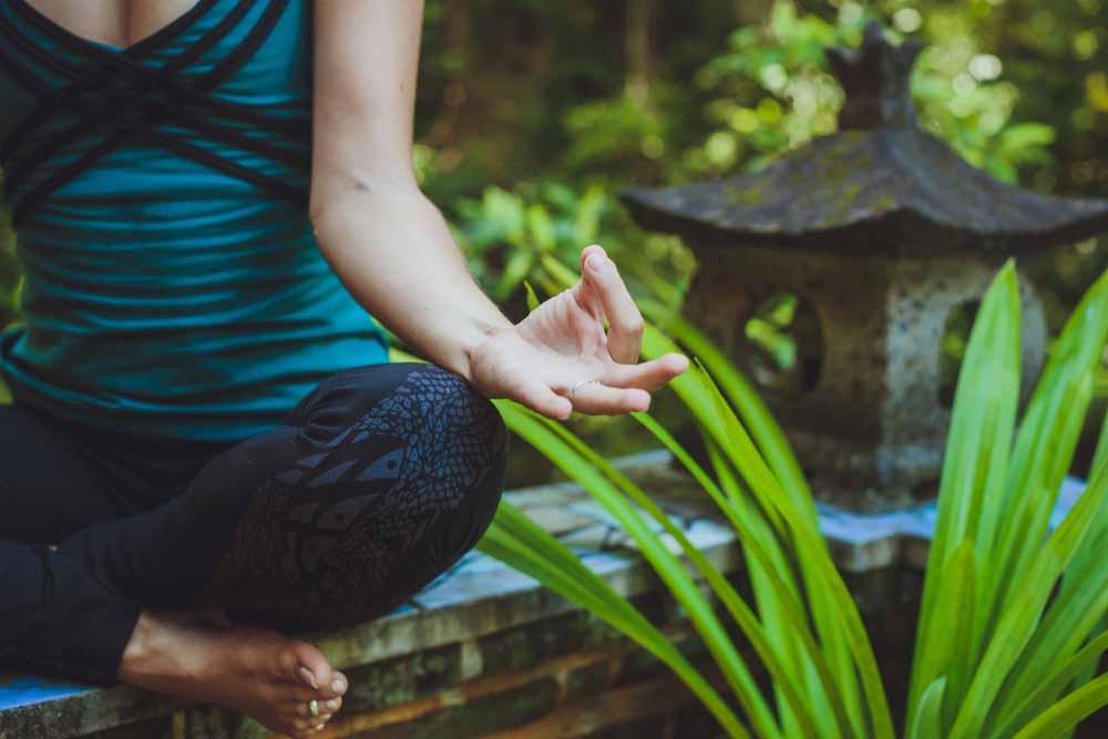woman yoga bali health retreat peace